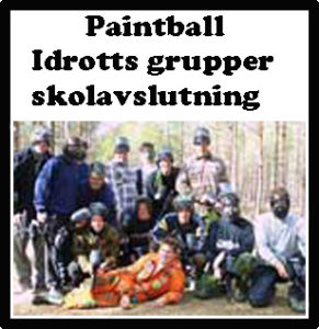 skolavslutning paintball paintballtorpet piteå