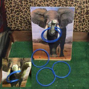 Aktivitetslåda game roliga spel event företagsevent spel företagsfest pricka elefantsnabeln paintballtorpet luftlandet örjansfiske piteå