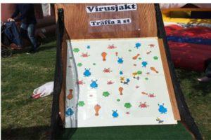 Aktivitetslåda game roliga spel event företagsevent spel företagsfest Virus paintballtorpet luftlandet örjansfiske piteå